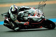 Leon HASLAM SIGNED Autograph Aprillia #91 12x8 Photo 2015 Season AFTAL COA