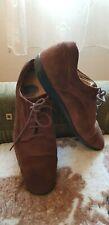 TOD'S Brown Suede Men's Shoes -size UK 7/ EU 41-