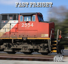 Train Sounds On CD: Fast Freight - Sounds of 21st Century Freight Railroading