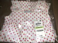 NEW First Impressions Baby Girls 2-PC Tank Top & Bloomers Romper Set - Cherries!