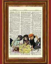 Tohru Yuki Kyo Fruits Basket Dictionary Art Print Picture Poster Anime
