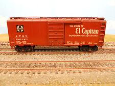"HO SCALE KAR-LINE SANTA FE ATSF 146285 ""EL CAPITAN"" 40' BOX CAR"
