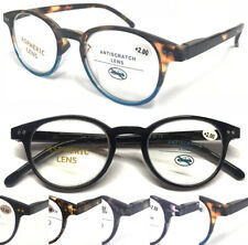 1889 Superb Quality Reading Glasses/Spring Hinges/Vintage Tortoiseshell Designed