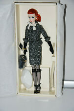 BLACK & WHITE TWEED SUIT BARBIE DOLL, BARBIE FASHION MODEL COLLECTION 2017, NRFB
