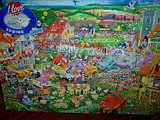 *MIKE JUPP - I LOVE SPRING* GIBSONS 1000 PIECES JIGSAW PUZZLE. NEW!