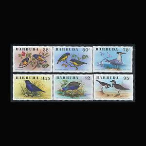Barbuda, Sc #238-43, MNH, 1976, Birds, Cpl. set, ETD-A
