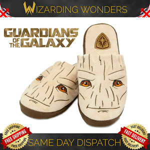 Groot Slippers Guardians Of The Galaxy Mens Womens UK 5-7 Marvel Official Gift
