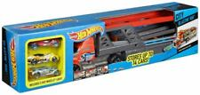 HOT WHEELS CITY BLASTIN' RIG ~ with 3 cars ~ BRAND NEW