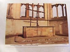 VINTAGE POSTCARD OF THE ALTAR OF RECONCILIATION COVENTRY CATHEDRAL ENGLAND