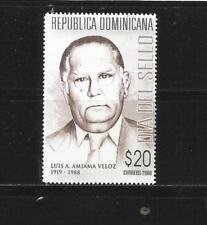 REP. DOMINICANA. Año: 2008. Tema: DIA DEL SELLO.