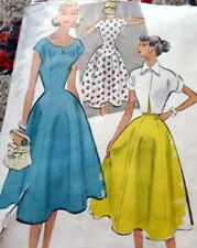 LOVELY VTG 1950s DRESS & JACKET McCALLS Sewing Pattern 14/32