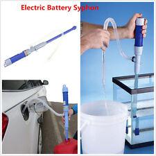 Battery Operated Liquid transfert Pump Siphon Gaz oil Fish Tank Aquarium Water