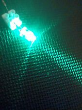 Ultra Bright 10mm LED Green x10 Clear Type - Best Quality Component