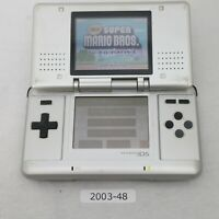 Nintendo DS Original console Silver Working Good condition 2003-048