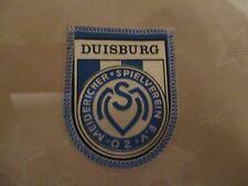 """MSV Duisburg Original gedruckter Aufnäher Mitte 70iger Jahre """"MSV Wappen"""" Neu"""