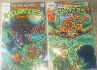 Eastman and Laird's Teenage Mutant Ninja Turtles Adventures Lot #14 & #15