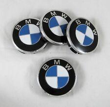 4 Pcs Set New Aluminum Center Cetre Hub Caps 60/56mm For BMW Alloy Wheel Rims