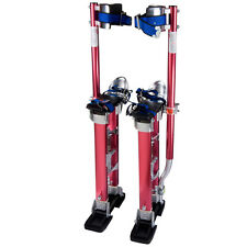 """Drywall Painters Walking Stilts Taping Finishing Tools Adjustable 24"""" - 40"""" a1"""
