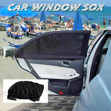 Pair Sun Sox Window Screening Sun Protector For Mazda Baby kid Protection