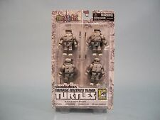 MiniMates Teenage Mutant Ninja Turtles Black & White Comic Con Exclusive Set