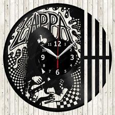 Zappa Vinyl Record Wall Clock Decor Handmade 2111