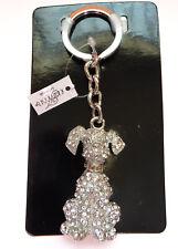 NWT Alexander Kalifano Dog Keychain Swarovski Crystals