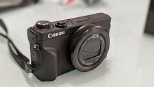 Canon PowerShot G7 X Mark III Black Best 4K Vlogging Point & Shoot Camera Bundle