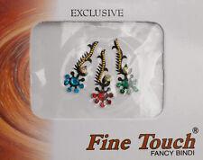 Bindi bijou de peau front bollywood multicolore dot tilak IND-R 1626