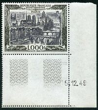 FRANCE 1949 AIRMAIL 1000F MINT UM CORNER EXAMPLE DATED...SG1059...cv £110+