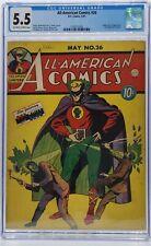 ALL-AMERICAN COMICS #26 CGC 5.5 Origin & 1st Sargon the Sorcerer! RARER THAN 16!