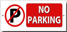 NO PARKING METAL SIGN.INSRUCTIONAL WARNING PARKING SIGN,PROPERTY PARKING SPACE.