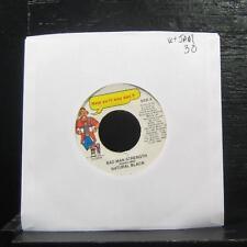 """Natural Black - Bad Man Strength 7"""" VG+ HSD008 Vinyl 45 How Yu Fi Sey Dat 1998"""