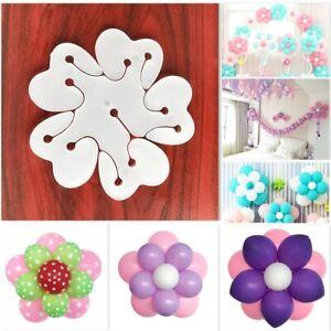 1-20 Garland Balloon Flower Clips Ties Fun Decoration Party Accessories Holder