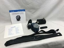 Garmin Forerunner 405cx Blue EXCELLENT CONDITION heart rate monitor ant charger