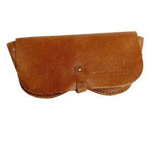 Paul Marius The Glasses Case Brown Leather