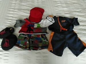 Build A Bear Star Wars Outfit Shoes,Top,Shorts,Shoes + Track Suit