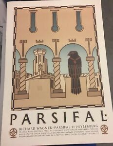 David Lance Goines 1983 Parsifal # 102 Original Lithograph Unsigned