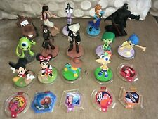 Disney Infinity Lot 14 Figures 6 Discs Mickey Mouse Minnie Darth Vader Inside Ou