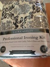 LAURA ASHLEY PROFESSIONAL IRONING KIT SIGNATURE  BLACK GRAY WHIITE DELANCY NIP