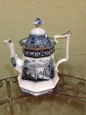 Antique Mulberry tea pot