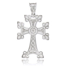 Sterling Silver Orthodox Cross Pendant