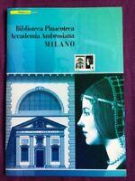 FOLDER 2009 BIBLIOTECA PINACOTECA ACCADEMIA AMBROSIANA MILANO FACCIALE € 14,00