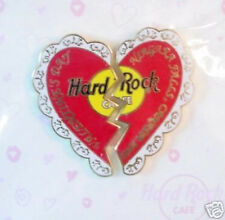 Hard Rock Cafe NIAGARA FALLS CANADA 2000 VALENTINE'S DAY PIN Heart