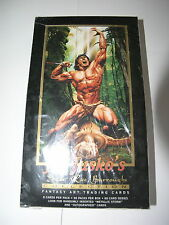 Joe Jusko Edgar Rice Burroughs I and II 1994 and 1995 2 Boxes of Cards