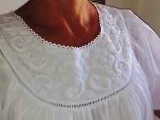 BNWT 100% Cotton Tiffany Nightie-Brand New design-Sz S-4XL - Perfect for Summer!