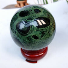 Kambaba Jasper Sphere Ball Stromatolite Algae Fossil Healing crystals Ball 50mm