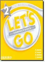Oxford Let's Go Level 2 Audio Compact Discs CDs Third 3rd Edition