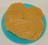 Little Tikes Play Food Plate of 6 Potato Chips