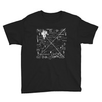 Basquiat Rammellzee and K-Rob Album Cover Artwork Youth T-Shirt