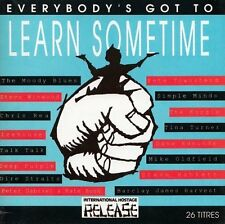 Everybody 's got to learn something (1991) simple Minds, Dire straits, C.. [2 CD]